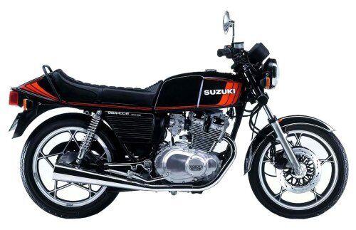 Aoshima 1 12 Vélo Suzuuki GSX 400e II Maquette en PLASTIQUE de Japon Nouveau