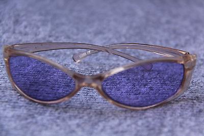 Sonnenbrillen Sammlung Hier Kleine Farb Brille Sonnenbrille GlÄser Lila Oval Rahmen Klarrosa Ein BrüLlender Handel