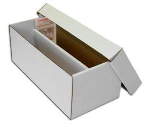 Lot of 10 Max Pro Baseball Verzamelkaarten: sport Trading Card 2-Row Graded Shoe Boxes storage box