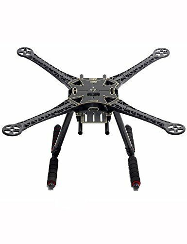 Readytosky S500 Quadcopter Frame Kit With Carbon Fiber Landing Gear PCB Version