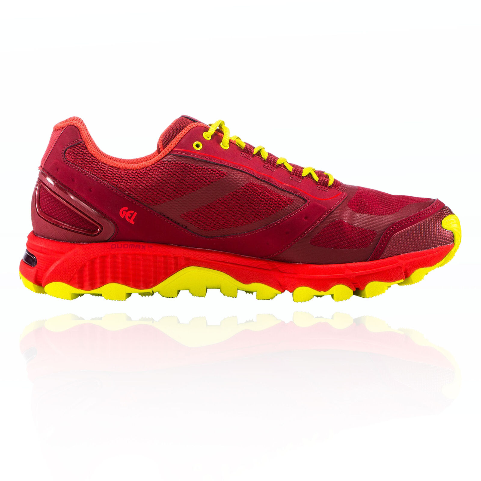Haglofs Mens Gram Gravel Trail Running Shoes Trainers Sneakers Red Sports