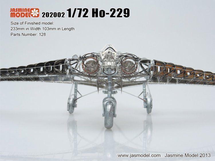 Ho-229 Gotha Go 229 Scale 1 72 Full Structure PE Detail Model kit
