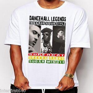 rastafari Reggae suga minott yellow man T-shirt new dancehall