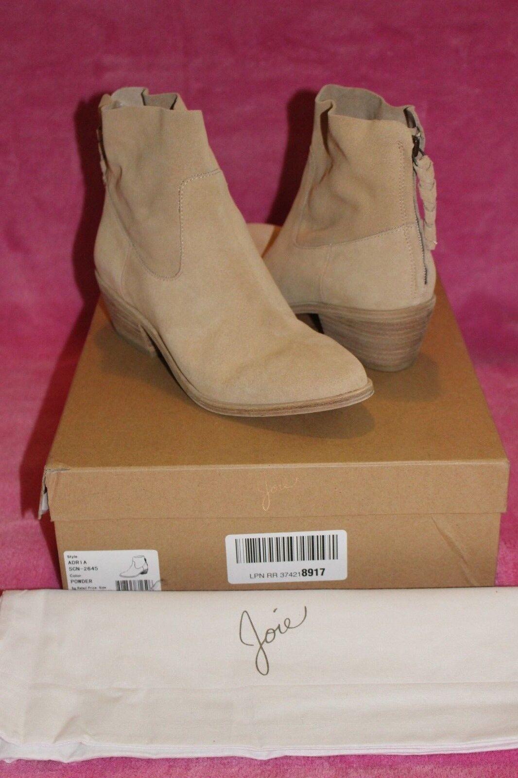 Nuevo     298 Joie Adriá botas de gamuza en polvo de Color, tamaño 38  tienda de bajo costo