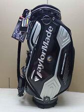 New TaylorMade JDM CBZ76 Cart Caddy Staff Golf Bag,  Black/Silver