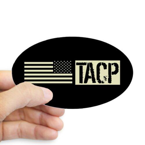 Sticker Black Flag CafePress U.S 1733896912 Oval Air Force: TACP