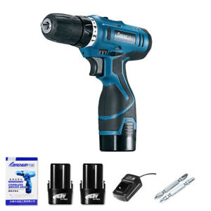16-8V-Electric-Screwdriver-Power-Cordless-Drill-kit-2-Speed-Rechargeable-Battery