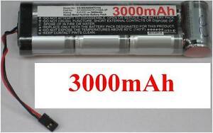 Batterie 8.4v 3000mah Type Sc3000/d47/futuba-3p Pour Generic Rc Racing Car