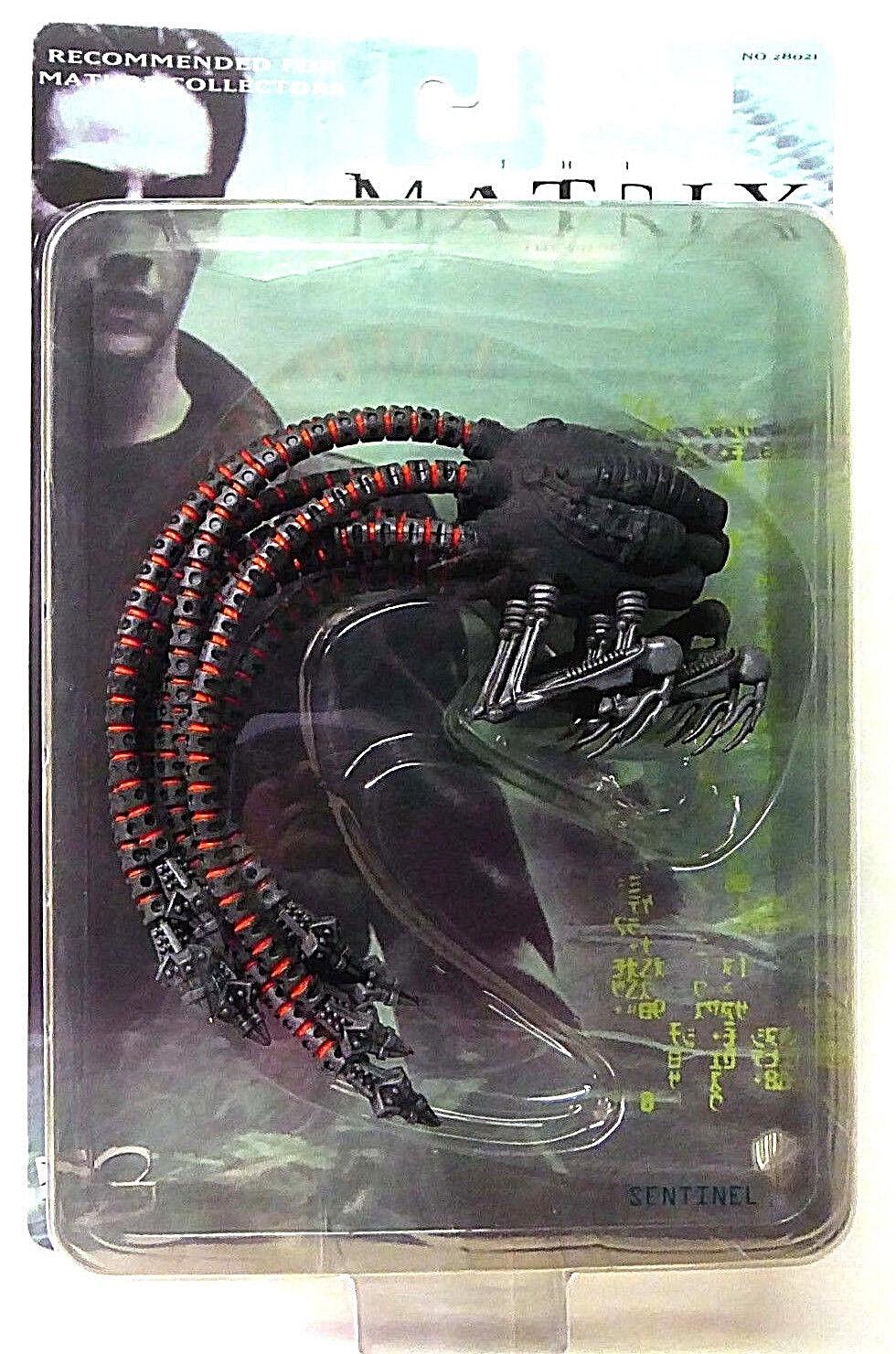 Sentinel Matrix Movie Action Figure Series 2 N2 Toys 2000 New MIB