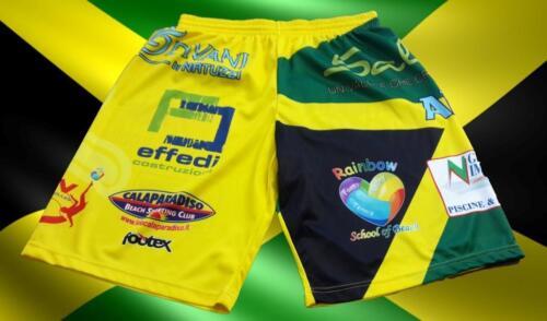 FOOTEX Pantaloncino Beach Volley JAMAICA Made in Italy Sconti Squadre Società