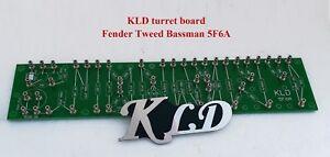 Details about Turret FR4 board printed Fender Tweed Bassman 5F6A layout DIY  amp kits