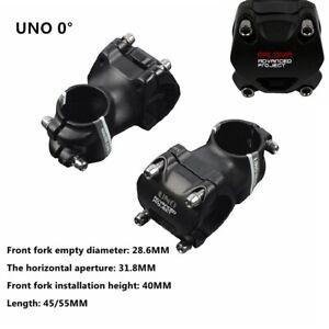UNO-0-degree-1-1-8-034-MTB-Mountain-Road-Bike-Ultralight-Stem-31-8-x-35mm-45mm