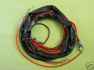 ih farmall 12 volt wiring harness single 1 wire alternator h 300 350 m 400 450 ebay. Black Bedroom Furniture Sets. Home Design Ideas