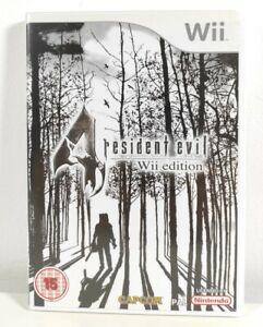 Resident Evil 4 Wii Edición Nintendo Wii Juego Perfecto Estado Completo PAL Reino Unido
