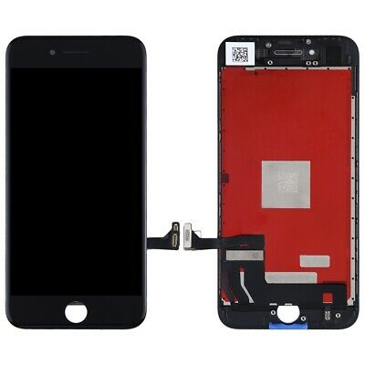Screen Replacement for iPhone 8 Black Touch Screen LCD Digitizer Replacement Frame Display Assembly Set with Repair Tool Kit iPhone 8, Black