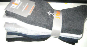 5-Paar-Herren-Socken-Ohne-Gummidruck-Sortierte-Farben-80-Baumwolle-950105