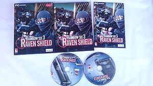 TOM-CLANCY-S-RAINBOW-SIX-3-RAVEN-SHIELD-PC-ORDENADOR-PAL-ESPANA-BUEN-ESTADO