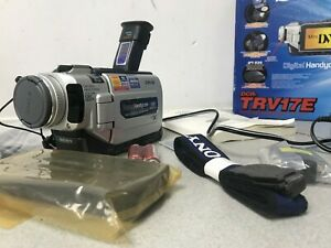 Sony-DCR-TRV17E-Camcorder-with-Power-supply-remote-amp-leads-Boxed