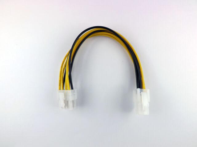 Strom adapter / Verlängerung ATX 1.3, 4 Pin Stecker auf 8 Pin EPS ATX 2.0 Kabel