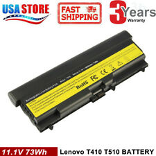 6/9Cell Battery for Lenovo Thinkpad T410 T420 T510 T520 SL510 W510 W520 E40 E50