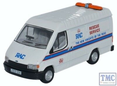 76ft3006 Oxford Diecast 1:76 Scale Oo Gauge Ford Transit Mk3 Rac Gradevole Al Gusto