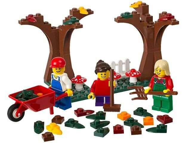 Lego Exclusives, 40057 Holiday: Fall Scene polybag.