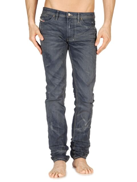 d5eea984 Diesel Shioner 0801A Men's Slim Fit Denim Jeans Size 27 x 32 Made in Italy  801A