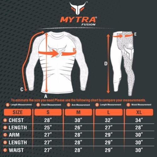 Mytra Fusion Compression Set Rash Guard /& Legging Stocking Gym Workout bodysuit