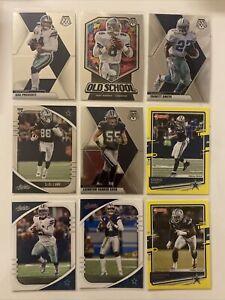 2020-Dallas-Cowboys-9-Card-Lot-Dak-Prescott-Mosaic-Ezekiel-Elliott-CeeDee-Lamb
