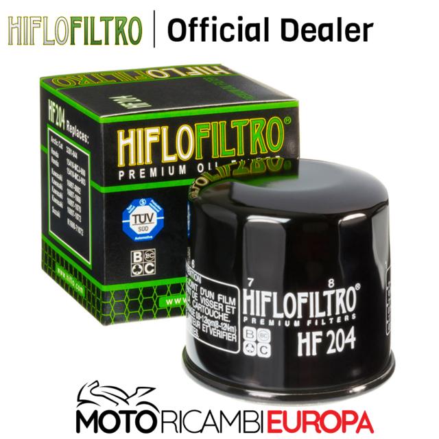 FILTRO OLIO HIFLO HF204 PER KAWASAKI ZX600 E10-E12 (ZZR600)  02-04
