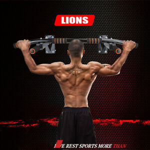 Wall-Mounted-Pull-Up-Bar-Heavy-Duty-Gym-Equipment-Fitness-Workout-Chin-Training