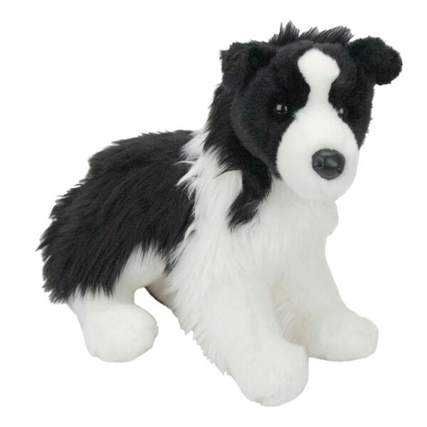 Douglas Chase Border Collie Plush Stuffed Animal