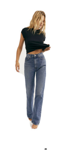 Agolde Vintage High Rise Flare Jeans Size 26