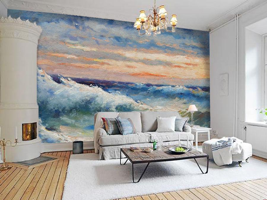 3D River Paint Paint Paint 471 Wallpaper Murals Wall Print Wallpaper Mural AJ WALL AU Summer bda800