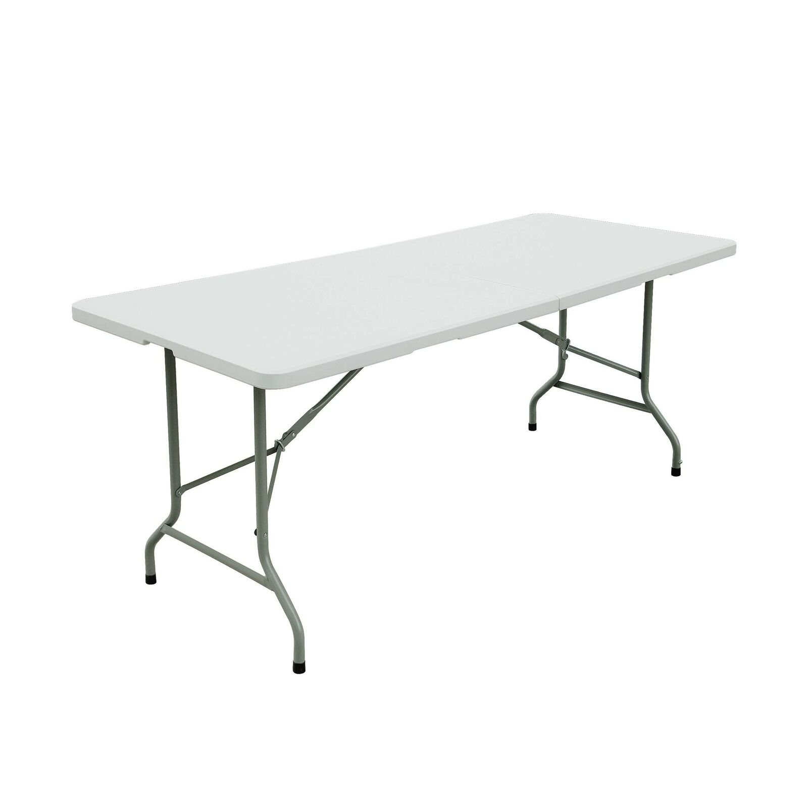 Forup Folding Utility Table 6ft Fold In Half Portable Plastic Picnic Party Camp For Sale Online Ebay