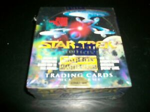 Star Trek Master Series 1 Trading Cards 36 Pack Box