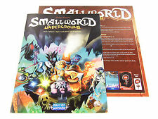 Small World Underground Replacement Game Rules Booklet & Summary Sheet Set 2pc