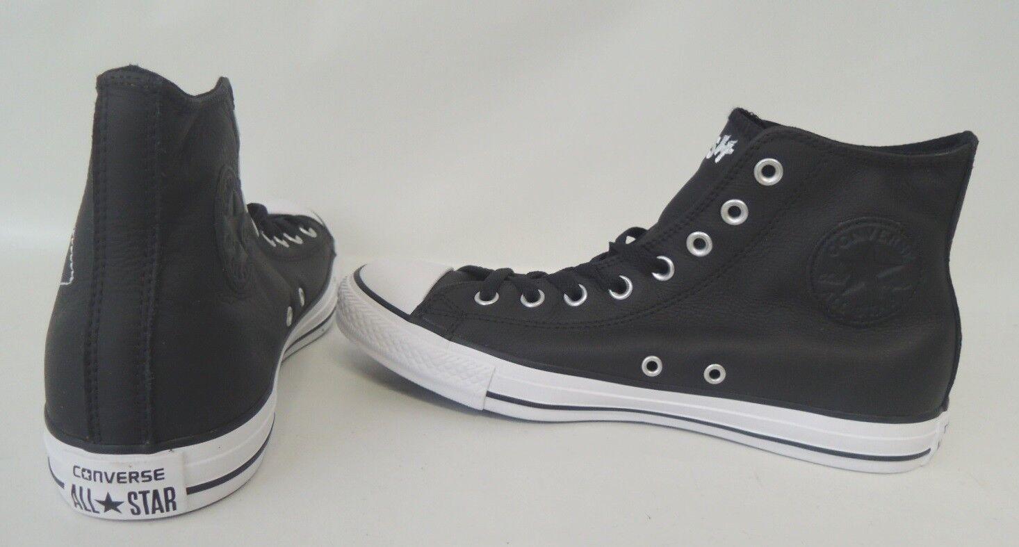 NEU Converse All Star Hi 41,5 Chuck Taylor Leder Sneaker Chucks Schuhe 155074C