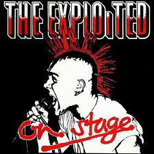 THE EXPLOITED - ON STAGE LP ☆☆☆NEU/NEW☆☆☆