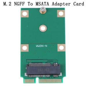 Mini PCI-E 2 Lane M.2 NGFF 30mm 42mm SSD To 52pin mSATA Adapter Card