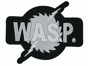 """WASP W.A.S.P Iron On Sew On Giant XL Back Patch 11.8/""""x9.5/"""""""