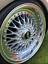 120 x ruota cromato argento in plastica Rivetti Dadi Cerchione Lip RICAMBIO leghe BORCHIE