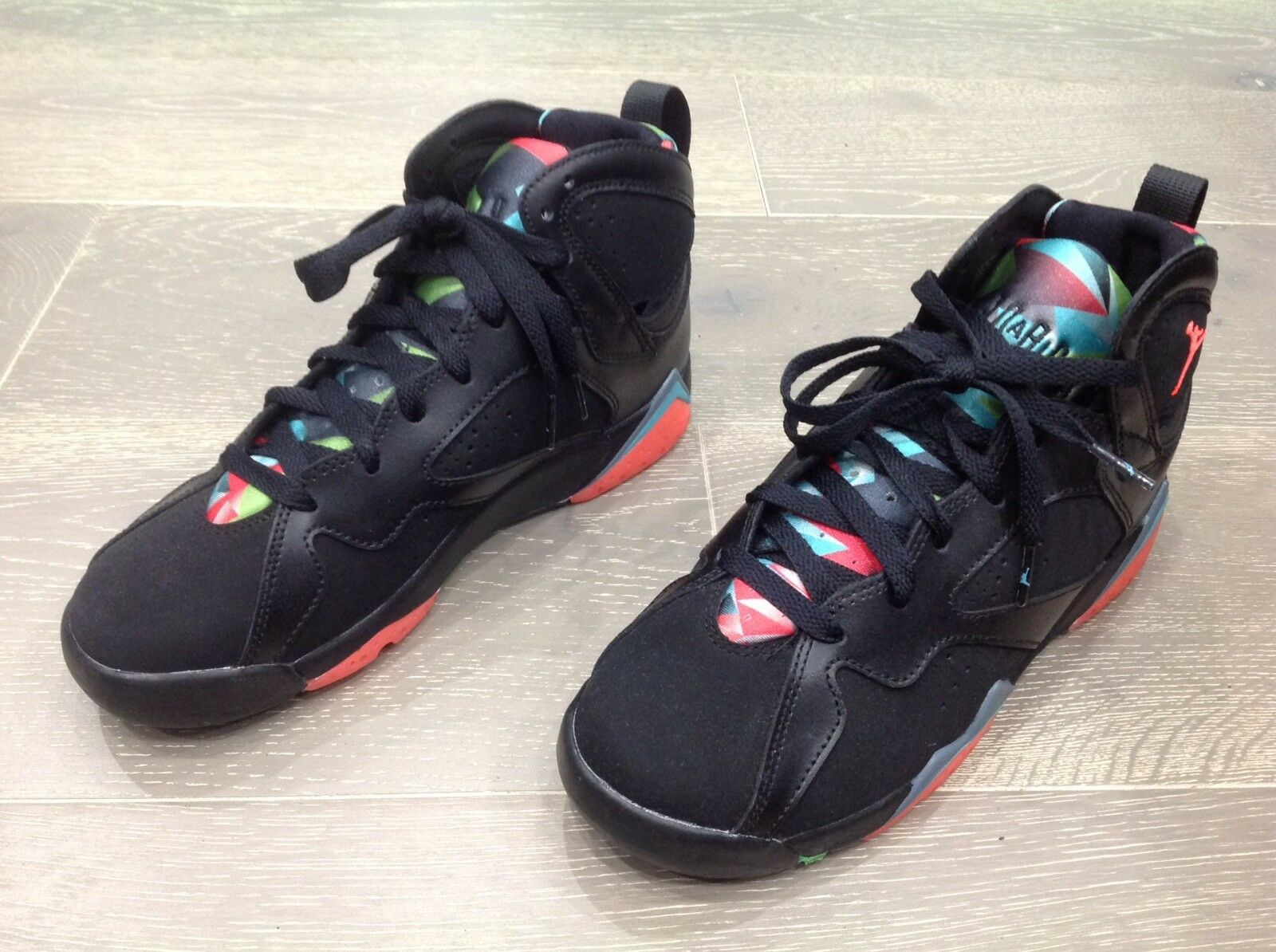 Air Jordan 7 Retro VII Marvin The Martian Size 7 Nero 705350 007