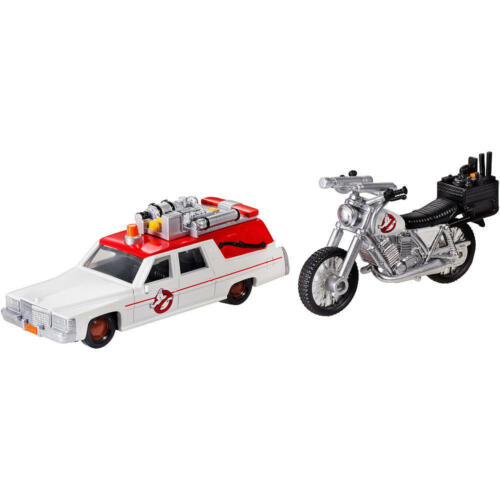 HOT WHEELS 2016 ECTO 1 AND ECTO 2 GHOSTBUSTERS CARTOON CAR 1//64 HOBBY EXCLUSIVE!