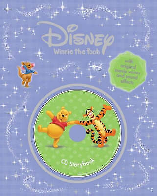 """AS NEW"" Disney ""Winnie the Pooh"" Storybook (Disney Book & CD), NA, Book"