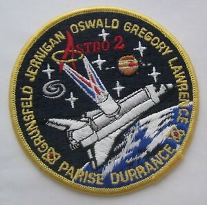 "SHUTTLE ENDEAVOUR STS-67  ASTRO 2 3/"" PATCH   NASA"