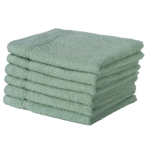NEW TEAL GREEN Color ULTRA SUPER SOFT LUXURY PURE TURKISH COTTON  8 PC TOWEL SET