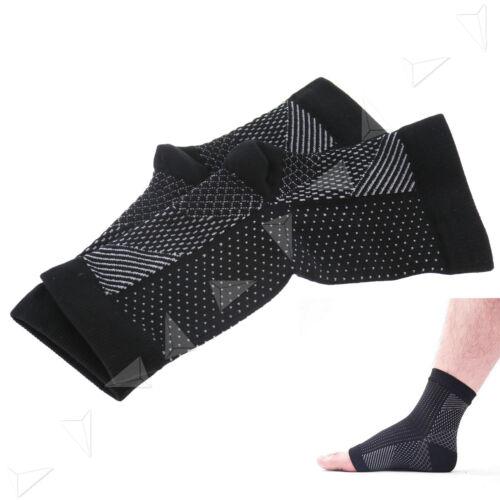 1paar Fußgelenkbandage Fußbandage Knöchelbandage S//M Stütze Sprunggelenk