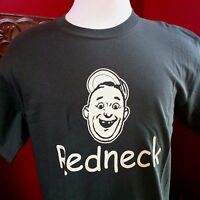 Hipster \ Hippie Redneck Hillbilly 100% Cotton T-shirt - Drab Green - Md - Xl