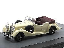 Matrix Scale Models 1938 Alvis 4.3 Litre Cross & Ellis Tourer white 1/43